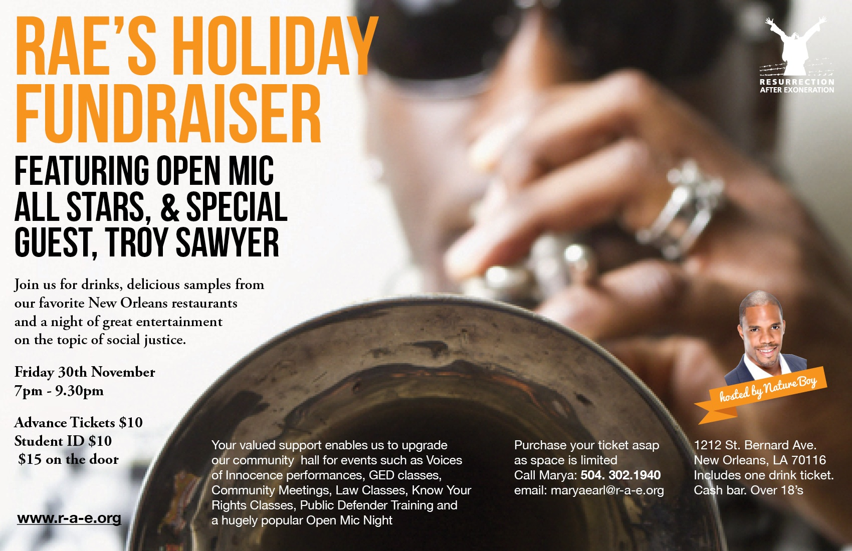 Holiday Fundraiser Flyer 2